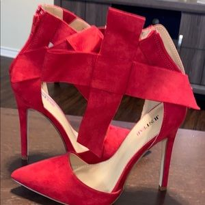 Red heel with bow - super sexy ‼️‼️